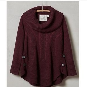 Angel Of The North Trapeze Cowl Sweater M